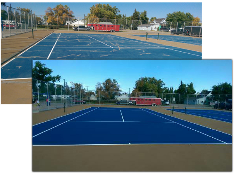 Tennis Court Maintenance 2