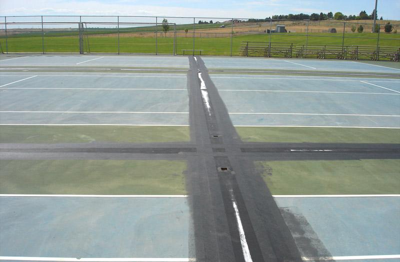 Basketball Court Construction